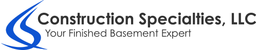 Construction Specialties, LLC | Basement Remodeling in Naperville/Plainfield, IL Logo